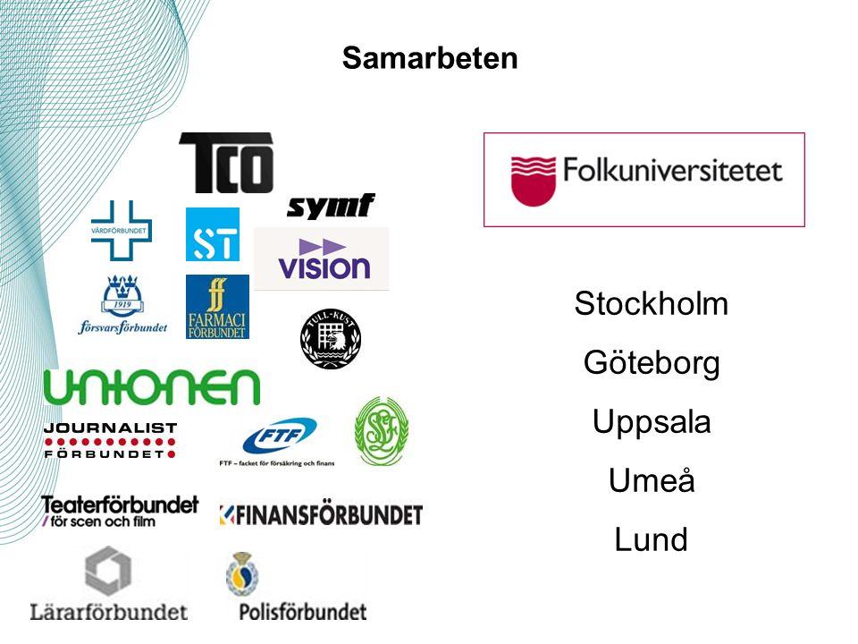 Samarbeten Stockholm Göteborg Uppsala Umeå Lund