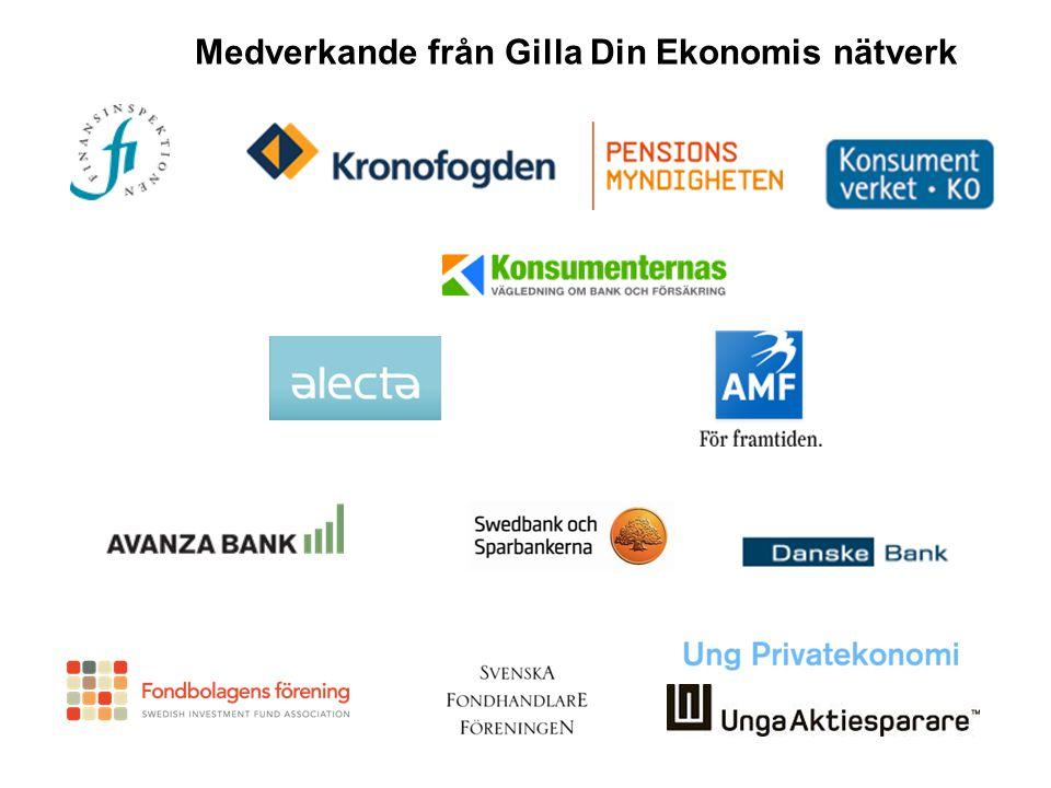 Vad är…… Medverkande från Gilla Din Ekonomis nätverk