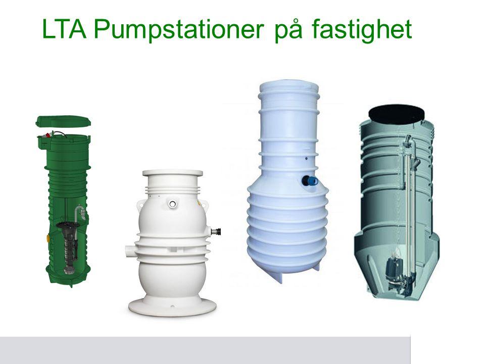 LTA Pumpstationer på fastighet