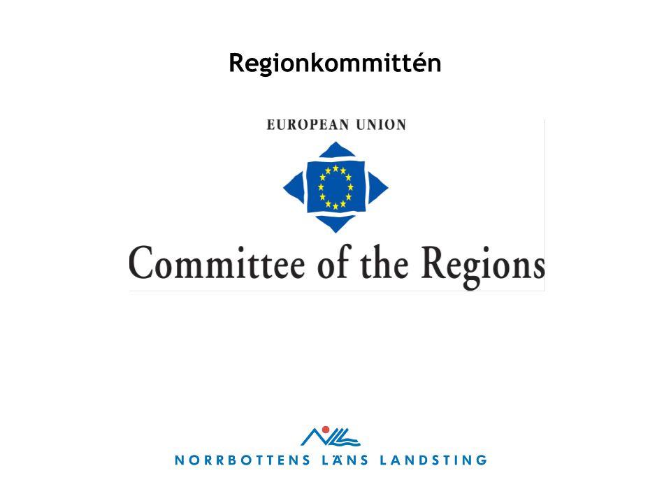 Regionkommittén (ReK) är ett rådgivande organ med uppgift att bedöma Europeiska unionens lagstiftning och politik ur ett lokalt och regionalt perspektiv.
