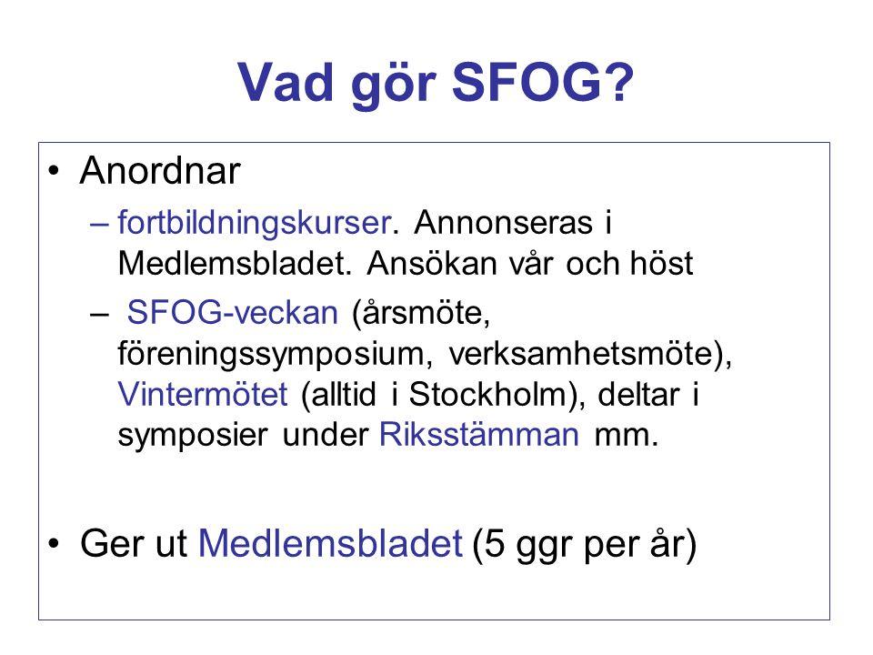 Vad gör SFOG.