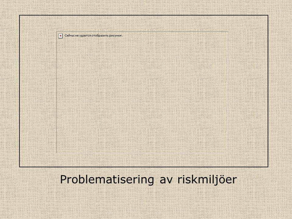 Problematisering av riskmiljöer