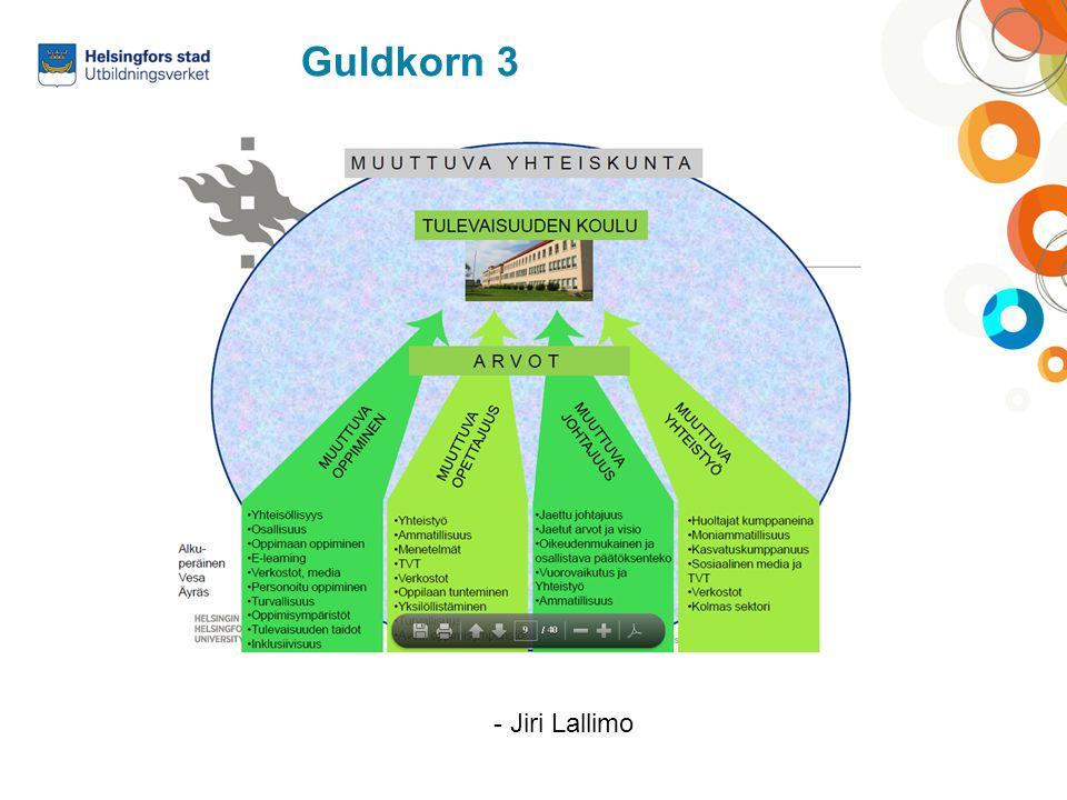 Guldkorn 3 - Jiri Lallimo