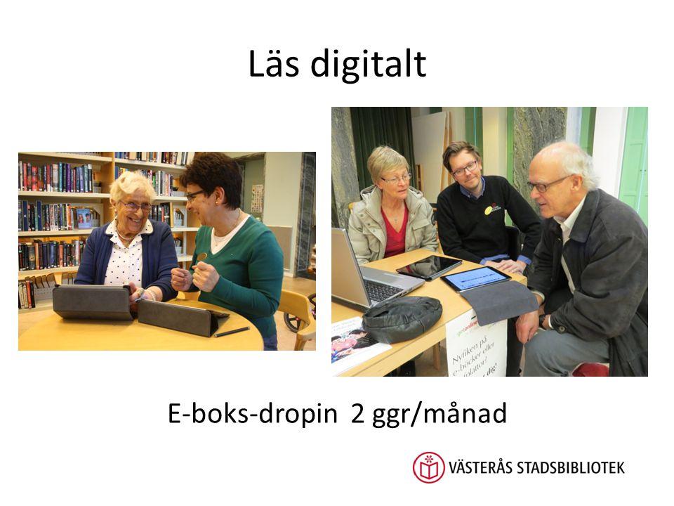 Läs digitalt E-boks-dropin 2 ggr/månad