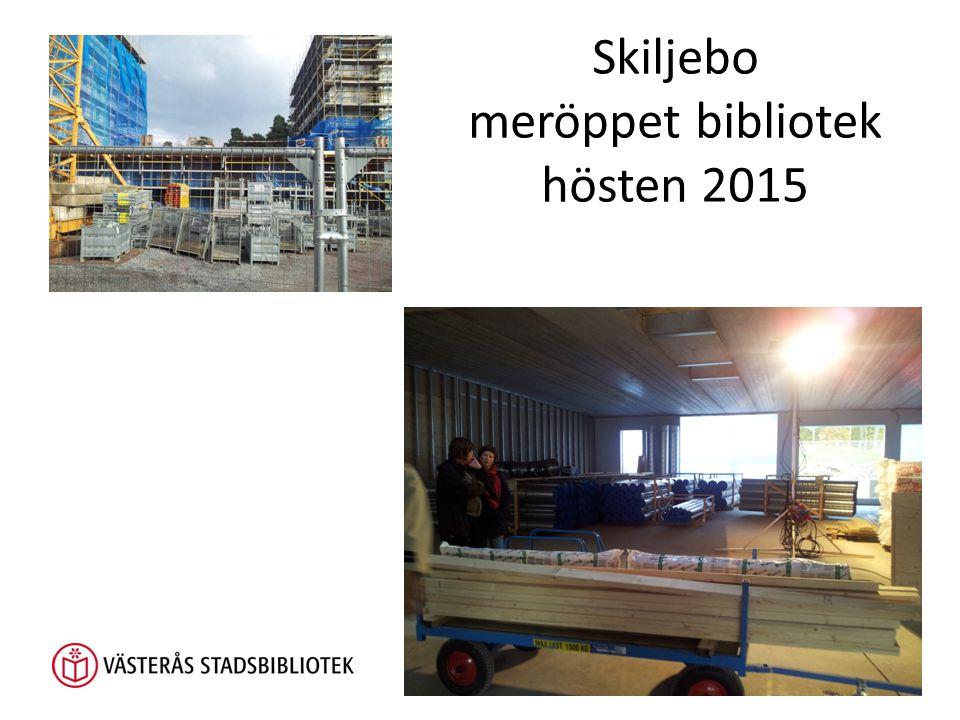 Skiljebo meröppet bibliotek hösten 2015