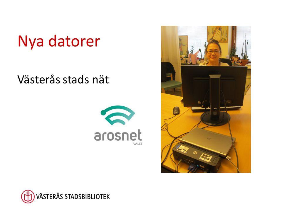 Nya datorer Västerås stads nät