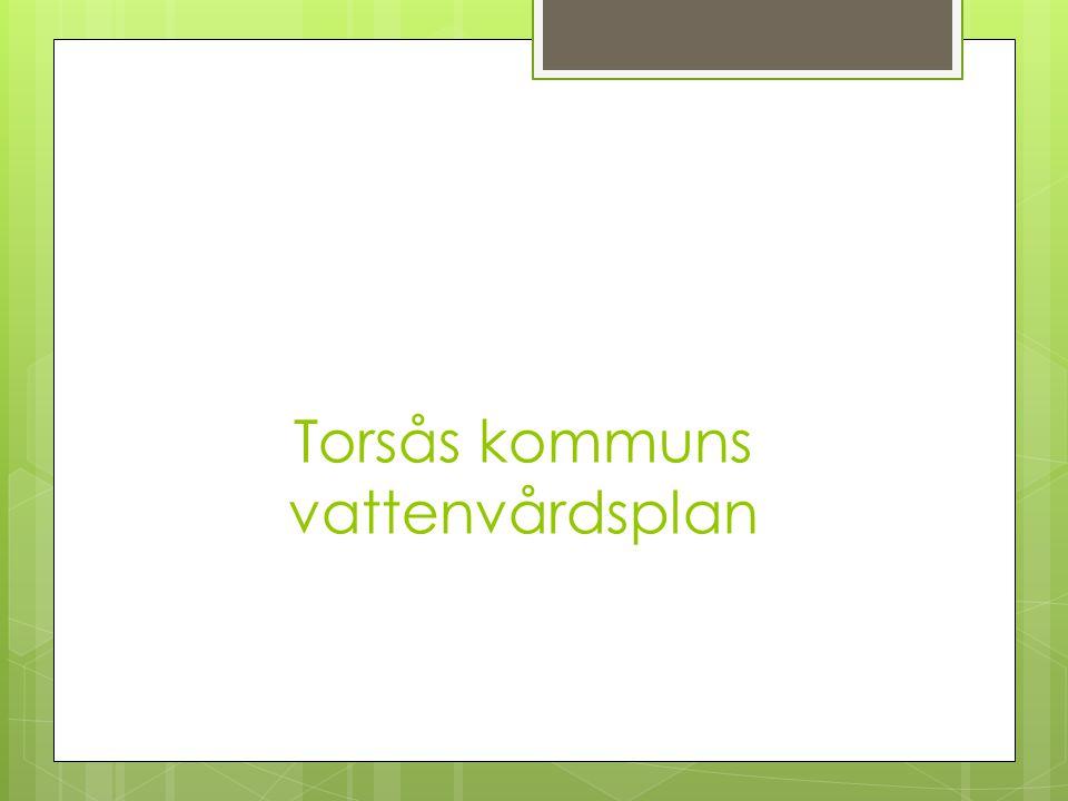 Torsås kommuns vattenvårdsplan