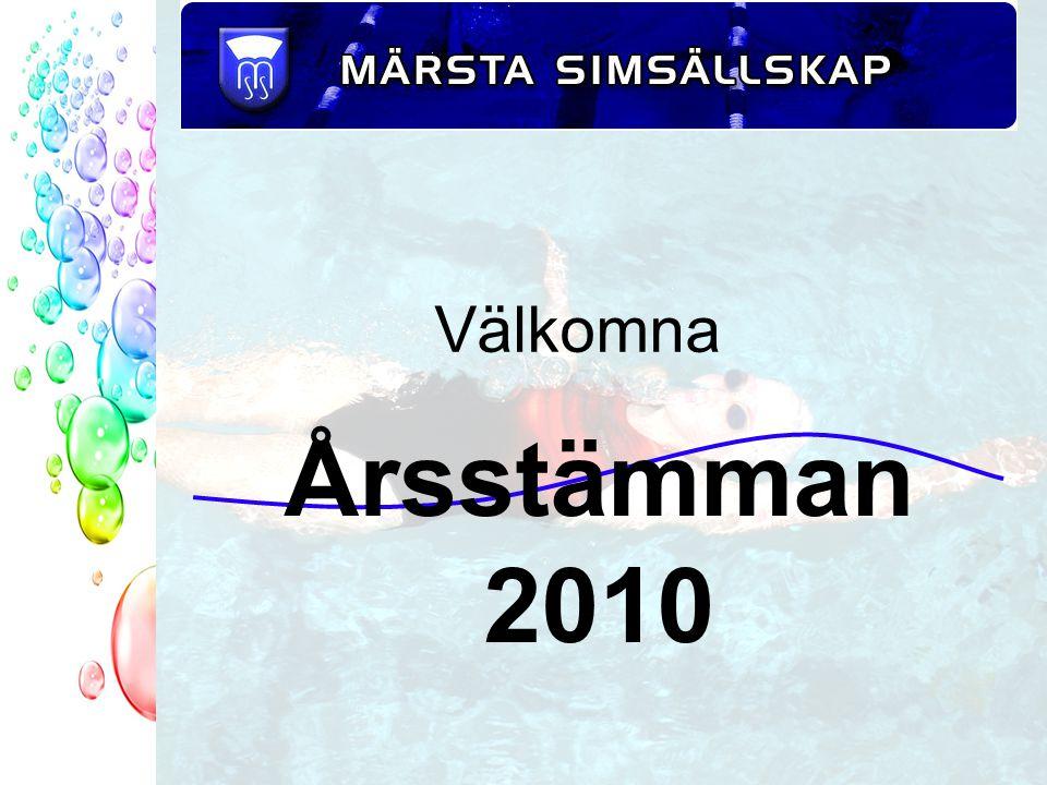 Välkomna Årsstämman 2010