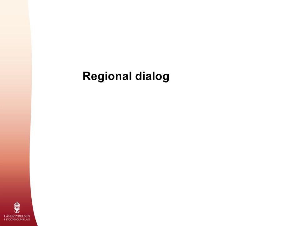 Regional dialog