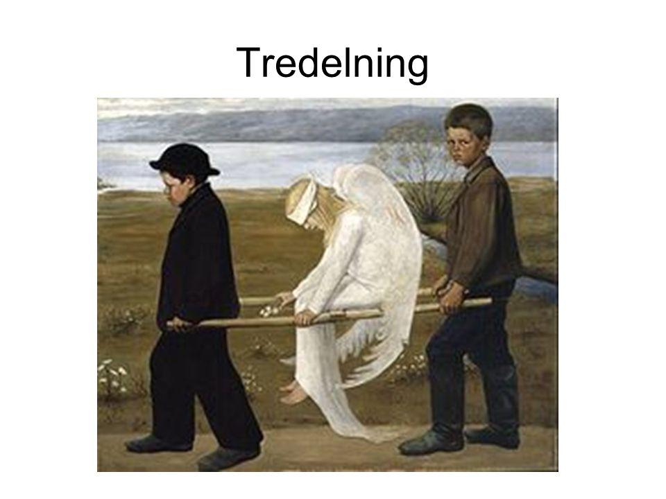 Tredelning