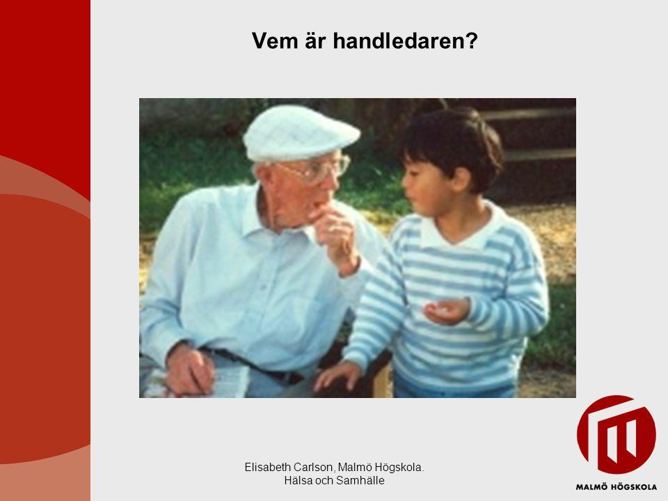 Elisabeth Carlson, Malmö Högskola.Hälsa och Samhälle Bikupa 1: Vad innebär handledning för er.