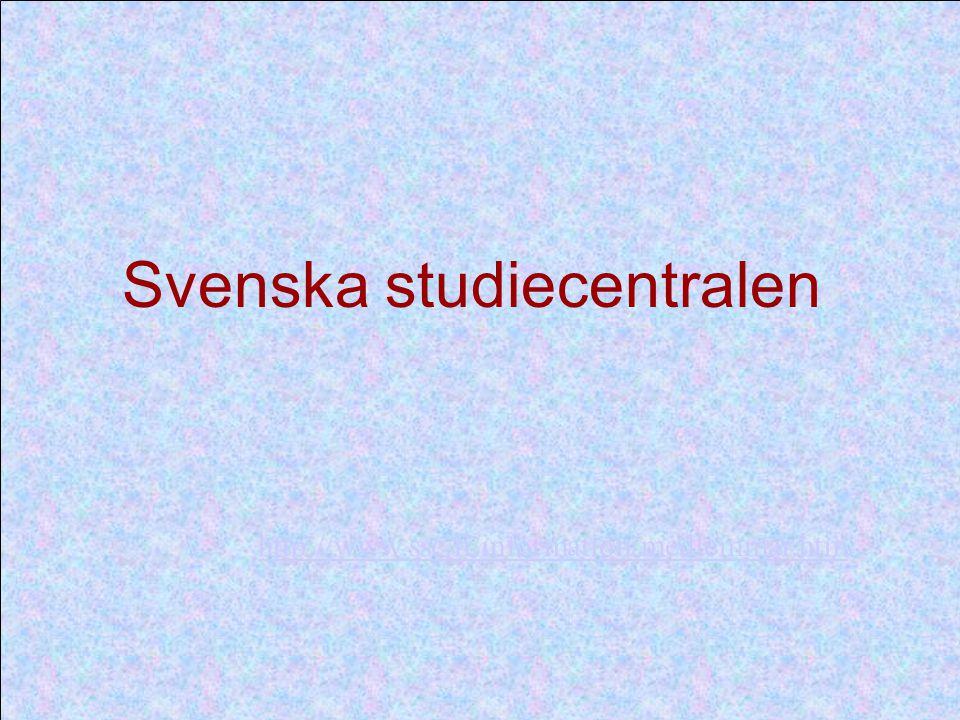 http://www.ssc.fi/information/medlemmar.htm Svenska studiecentralen