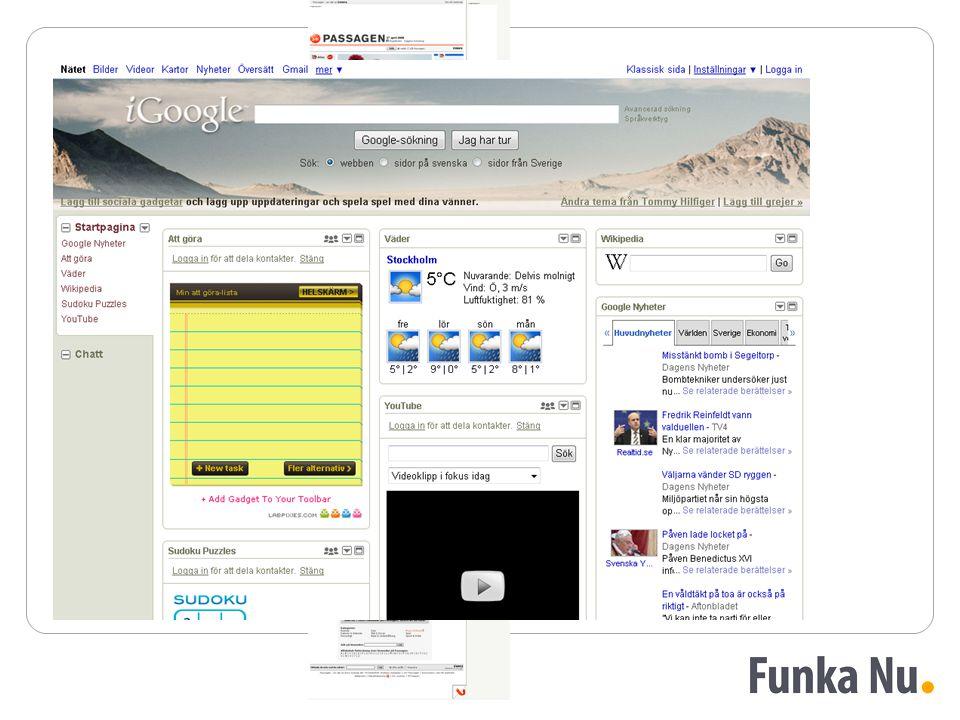 Design av tjänster Från portal till tjänst
