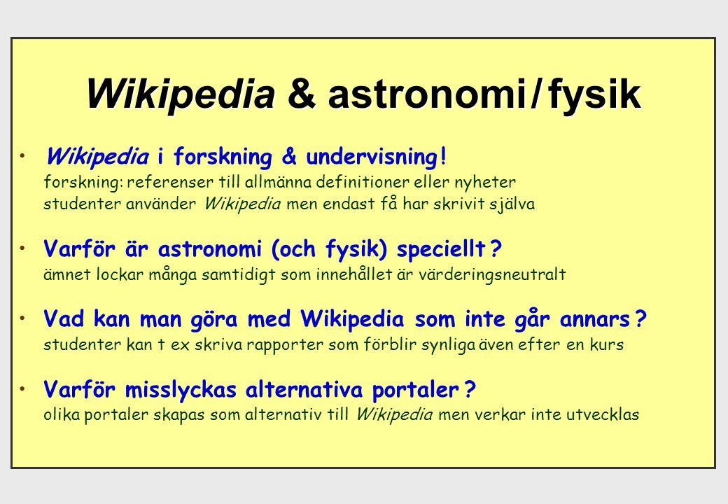 Engelskans (amerikanskans) ursprungliga dominans på Wikipedia (och Internet) minskar successivt