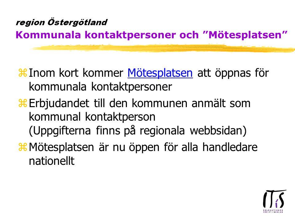 zErfarenhetsutbyte mellan personer i länet som ansvarar för ITiS infrastruktursatsning zArbetsgrupp bildas inom IT-ÖSTSAM zFörsta träff den 25/5 kl 14-17 i Linköping (Stadshuset) då även Infrabas-projektet medverkarInfrabas-projektet ytunna klienter och ASP ydubbla nät i skolan  e-postlösningar region Östergötland Nätverk för Infrastruktursatsningen