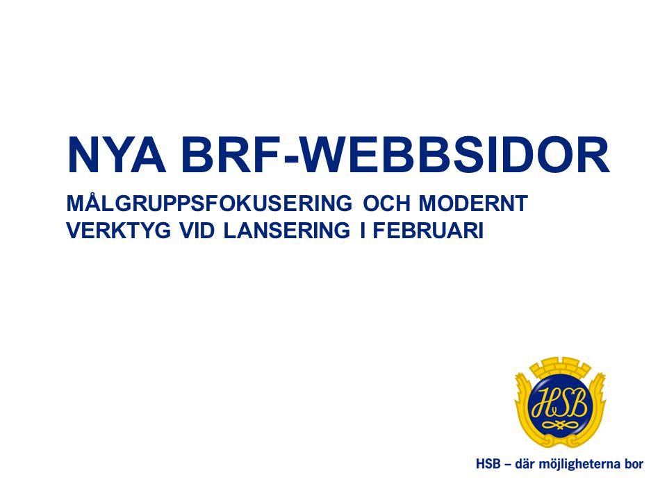 SUPPORT OCH UTBILDNING Support för brf-webbsidor: brfwebb@hsb.sebrfwebb@hsb.se Utbildningar kommer att hållas fysiskt två gånger om året samt via distriktsverksamheten Interaktiv utbildning på hsb.se