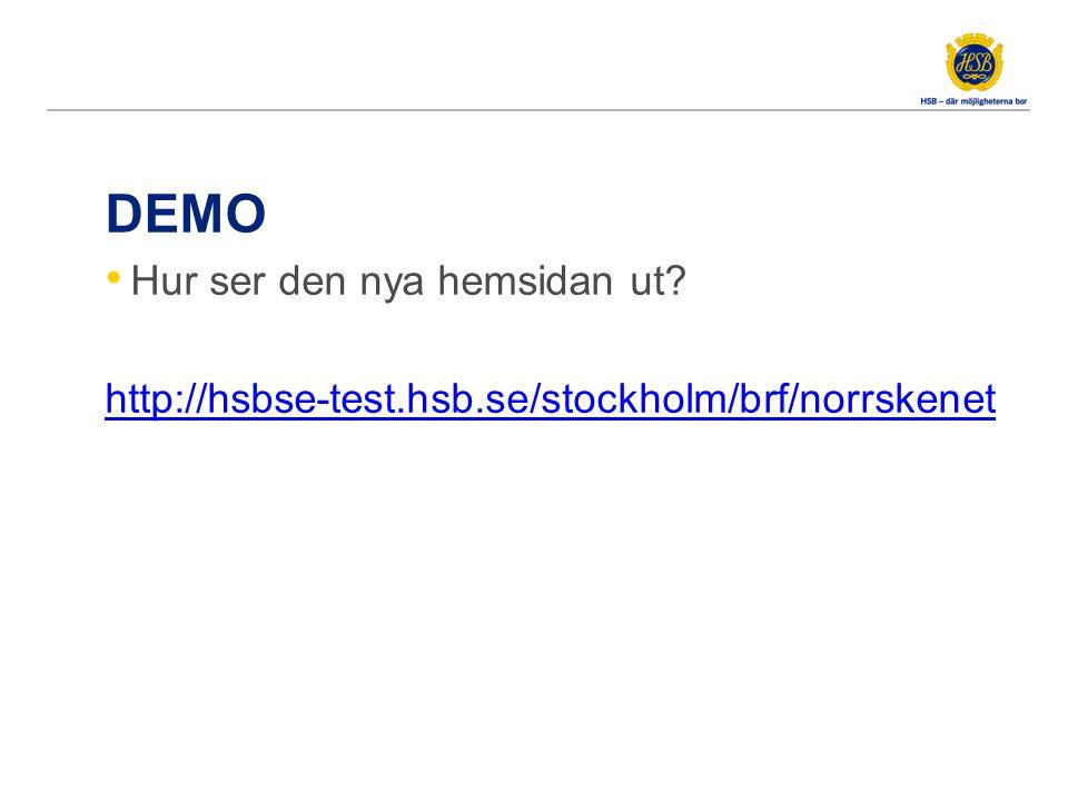 NY TJÄNST: WEBBREDAKTÖR FÖR BRF Ta hjälp av HSB Stockholm – nå ut i bruset med er webbsida!