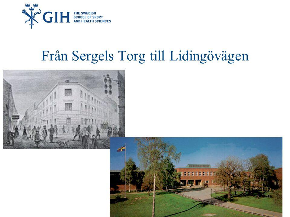 Från Sergels Torg till Lidingövägen