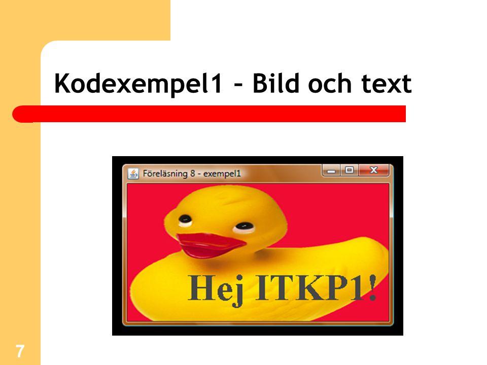 Kodexempel1 – Bild och text 7