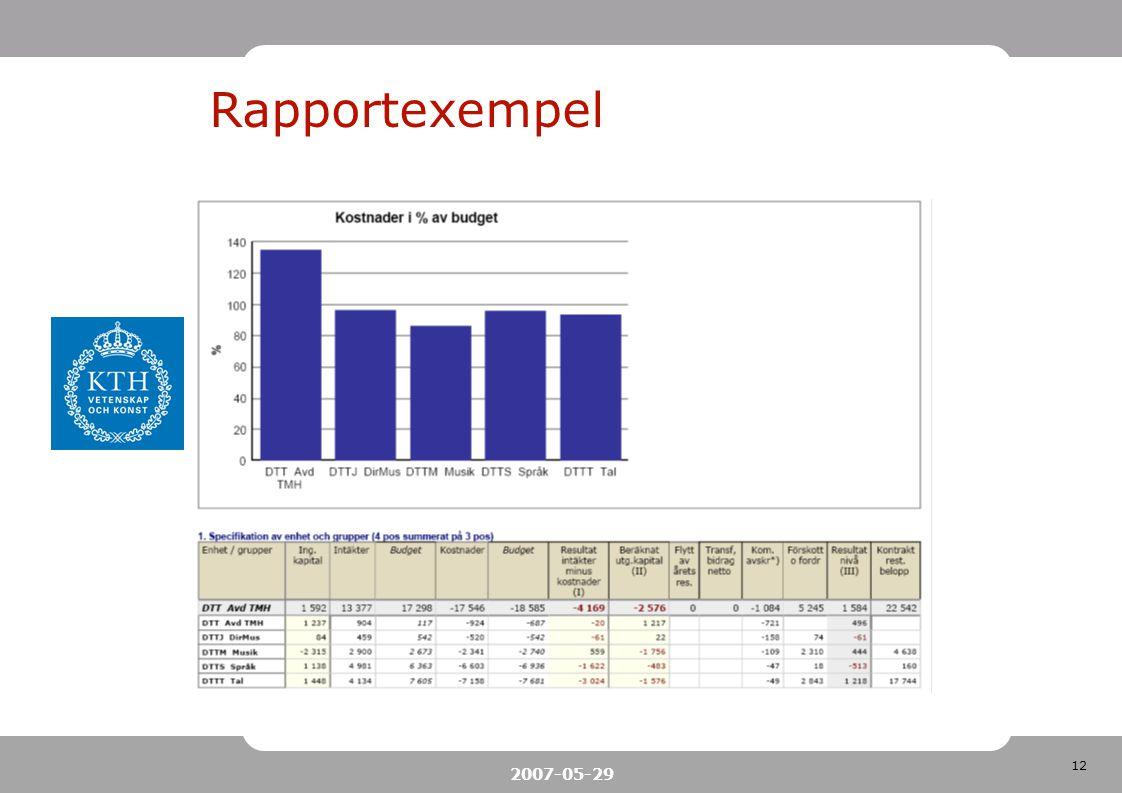 12 2007-05-29 Rapportexempel