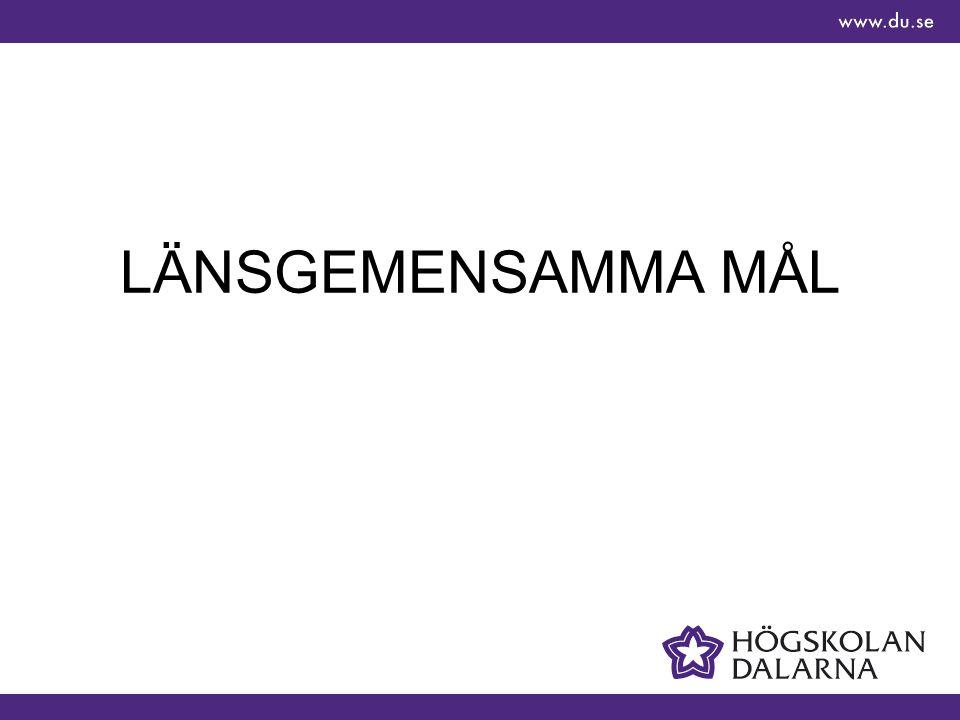 LÄNSGEMENSAMMA MÅL
