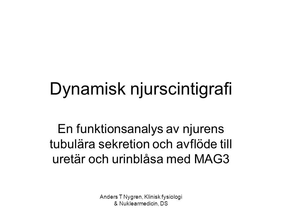 Anders T Nygren, Klinisk fysiologi & Nuklearmedicin, DS MR angio vs njurscint.
