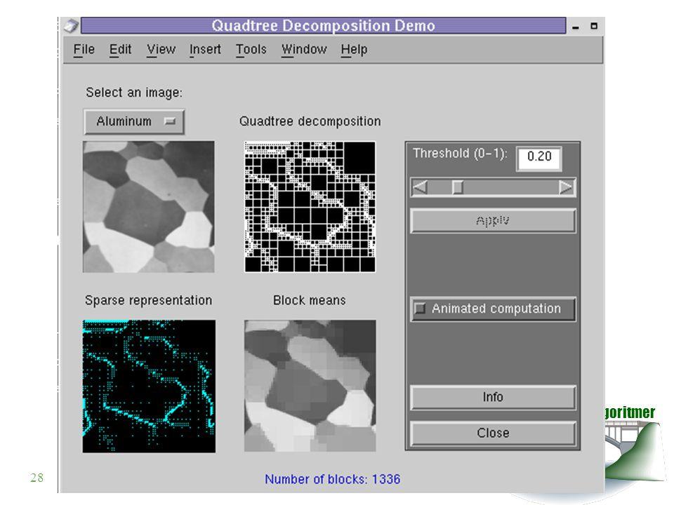 Datastrukturer och algoritmer VT 2003 28© Anders Broberg, Ulrika Hägglund, Lena Kallin Westin, 2003