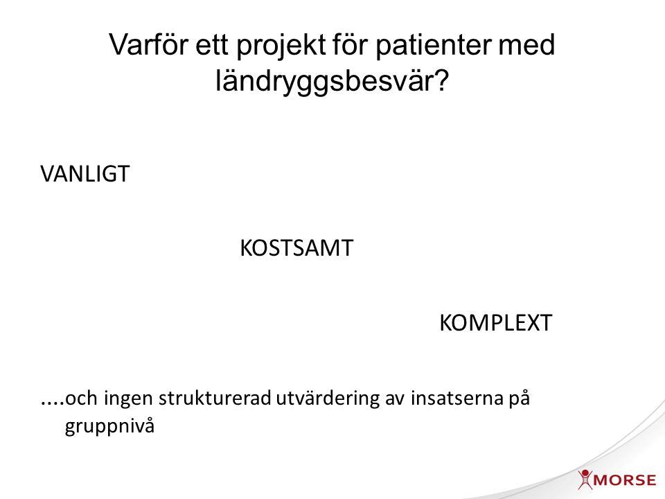 Jöud, 2011 manus Konsultationsratio, nydebuterad ländryggssmärta i Skåne 2009 (n=16408)