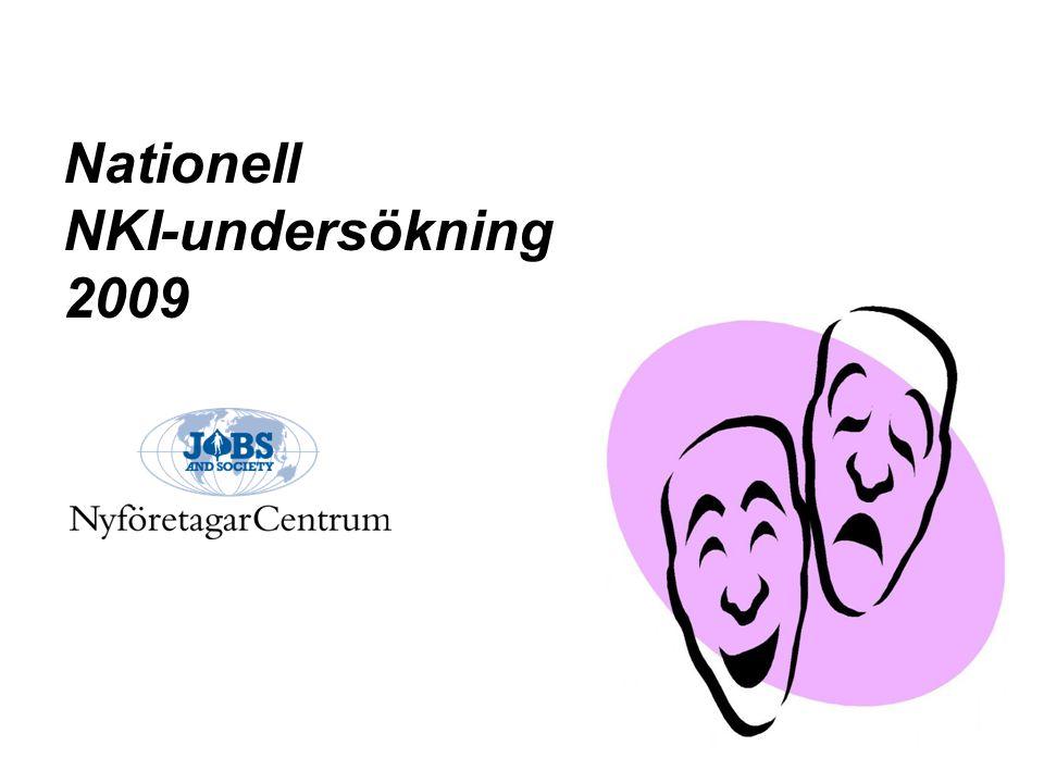 Nationell NKI-undersökning 2009