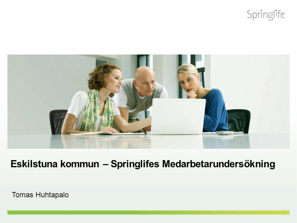 Eskilstuna kommun – Springlifes Medarbetarundersökning Tomas Huhtapalo