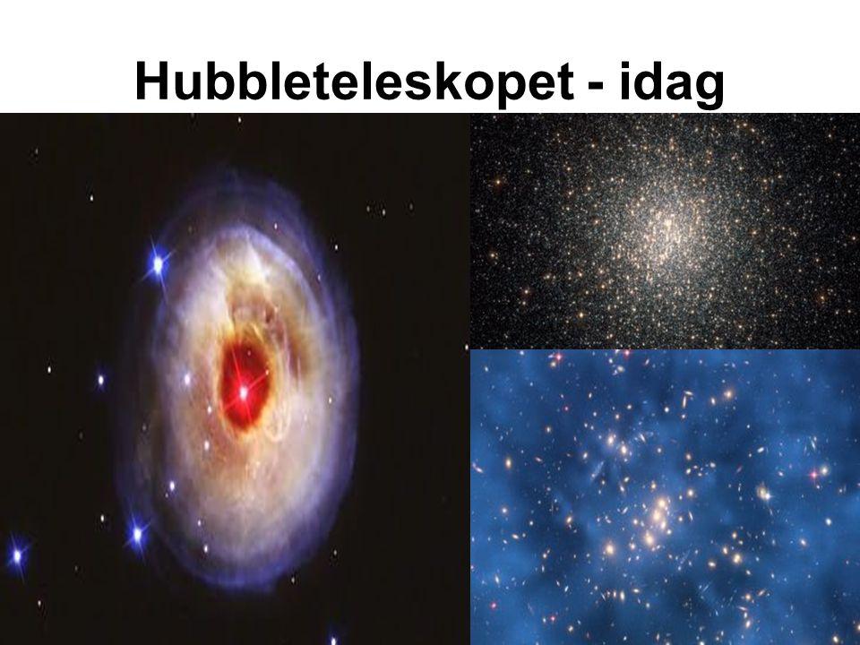 Hubbleteleskopet - idag