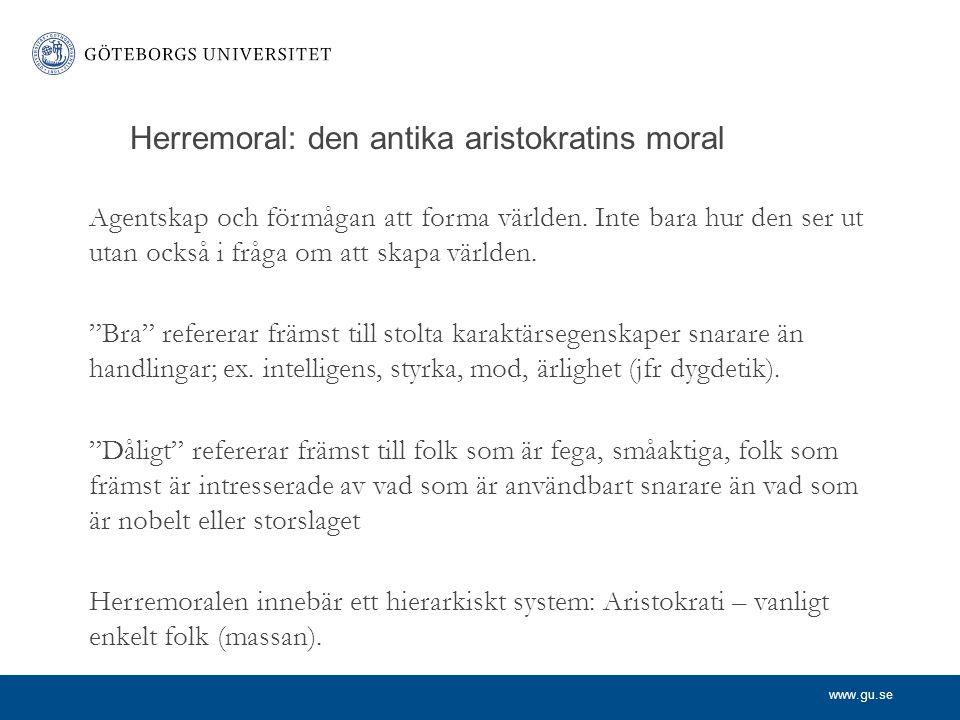 www.gu.se Nietzsche och det psykologiska felslutet.