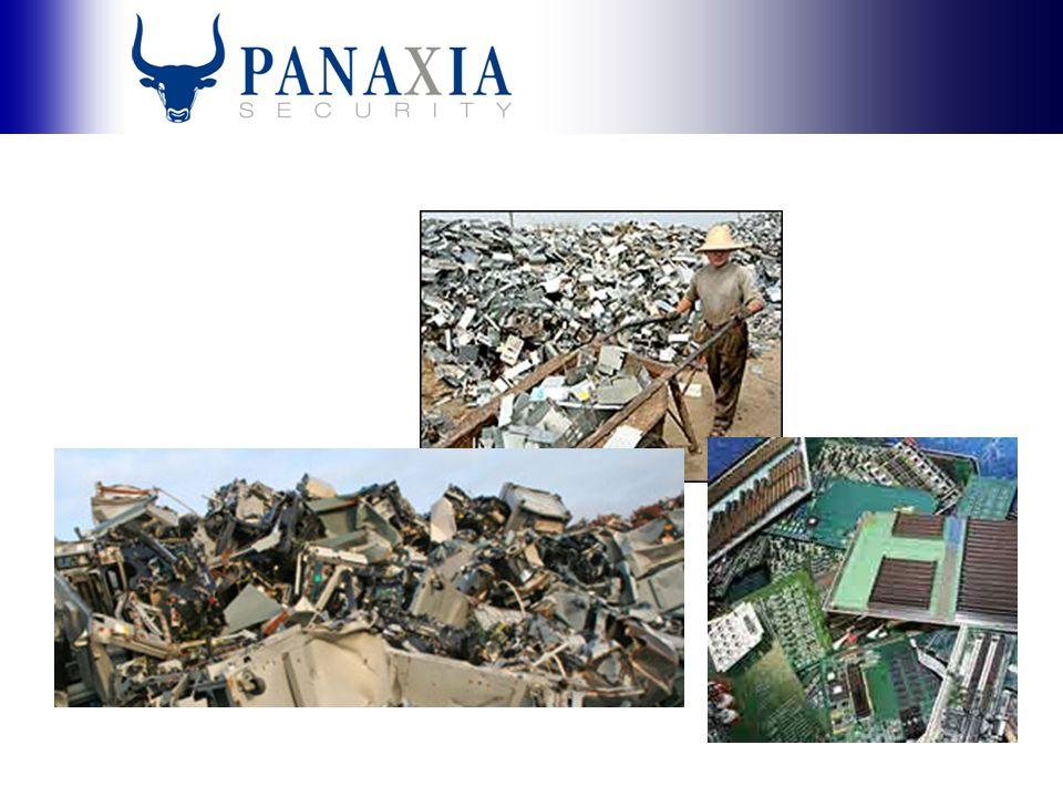 Affärsidé Vi erbjuder säker och miljöriktig logistik för tillvaratagande av digital och analog information samt miljöriktig destruktion av informationsbärare och elektronisk hårdvara.