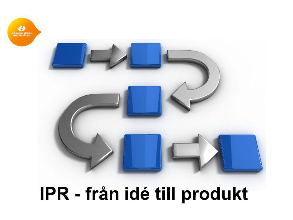 IPR - från idé till produkt