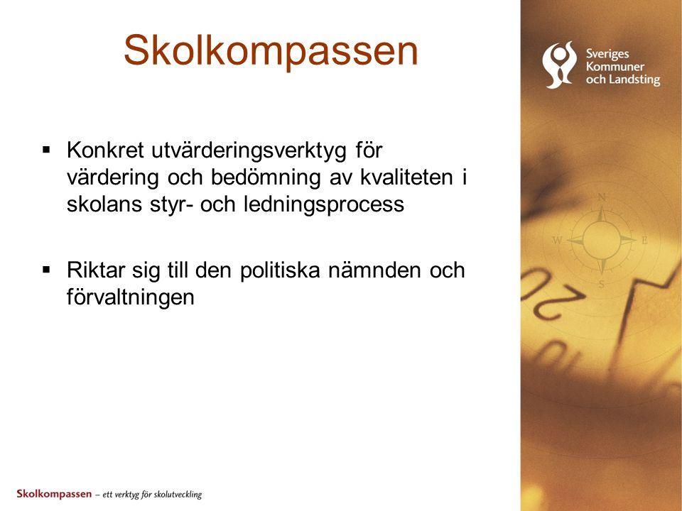 Skolkompassen Spridning goda exempel  Skrifter  Konferenser/Seminarier  Kommunal Skolriksdag  Nätverk för utvecklingsarbete