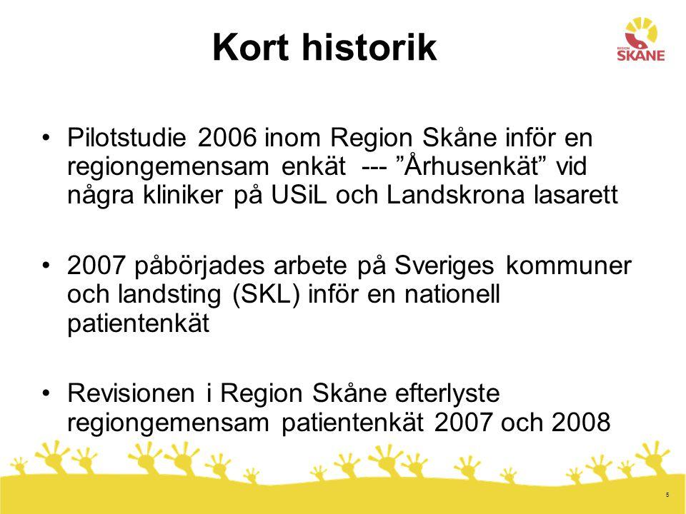 16 Styrgrupp NPE i Region Skåne Ingrid Ahlinder Margareta Albinsson Alexander Dozet Charlotta Gyland Bodil Ivarsson Lena Nilsson Lars Sjöberg Gunilla Wallgrund, ordf.
