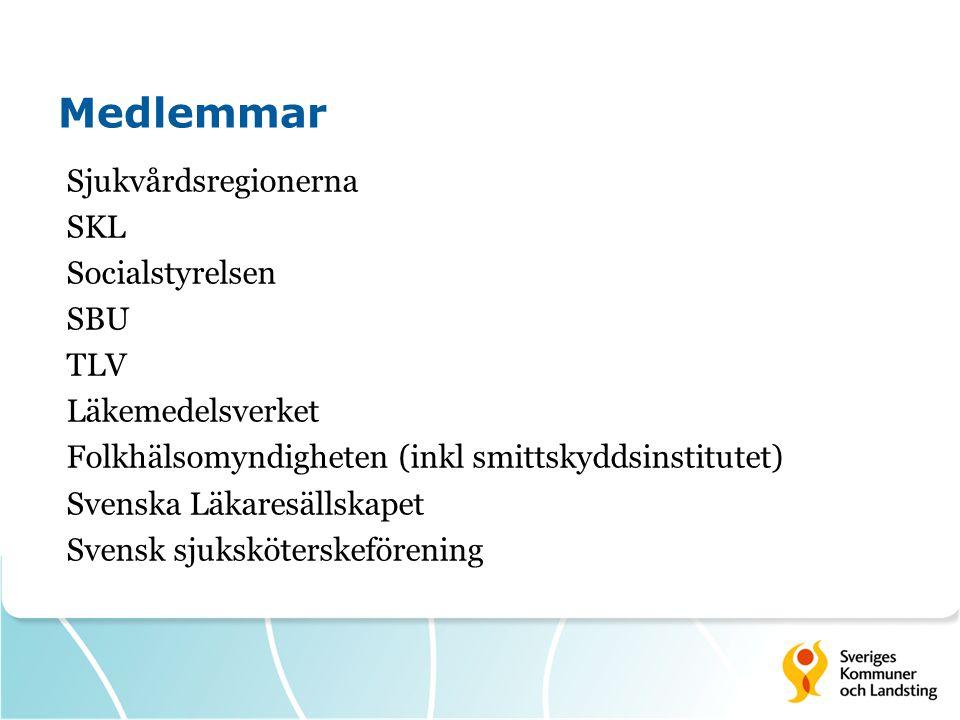 Uppdrag om samverkan  Formell struktur  Val av områden för nationella kunskapsunderlag  I arbetet med nationella kunskapsunderlag  I arbetet med indikatorer för god vård/nationella register  För större nytta av nationella kunskapsunderlag