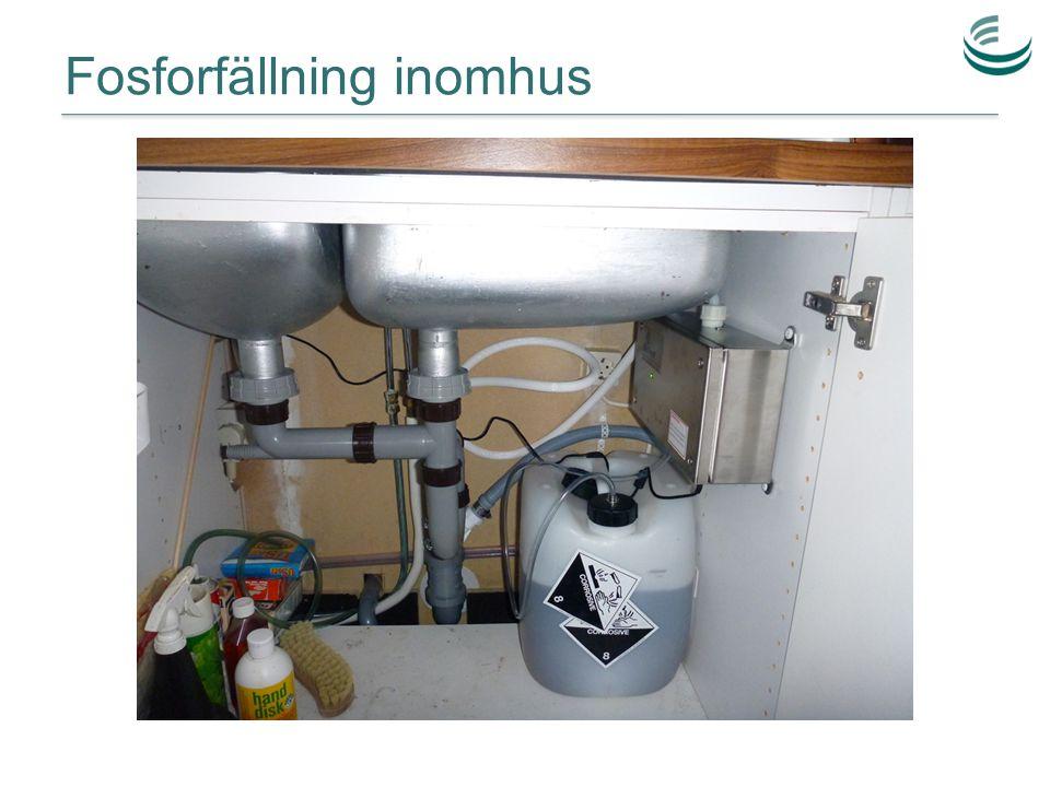 Fosforfällning inomhus