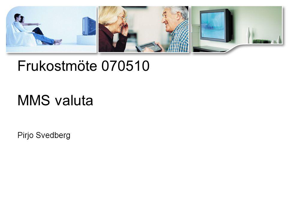 MMS interna kontroller av program och reklam Programmen:  Deadline, leverans senast kl 10 från kanalerna  MMS kontrollerar dagligen rimligheten i programloggarna för SVT1, SVT2, TV3, TV4, Kanal 5, TV6, Eurosport, Discovery, MTV, TV4 +, TV4 Fakta, TV400, TV8, Kanal9  Programmens starttider och längd kontrolleras mot tablå.