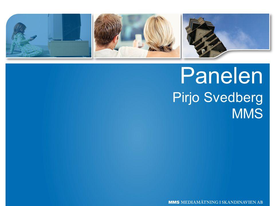 Panelen Pirjo Svedberg MMS
