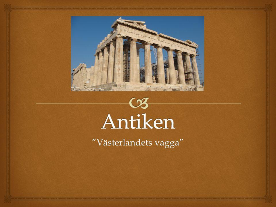   Athen  Aristokratisk demokrati; styrdes av en folkförsamling som alla över 20 fick rösta till.