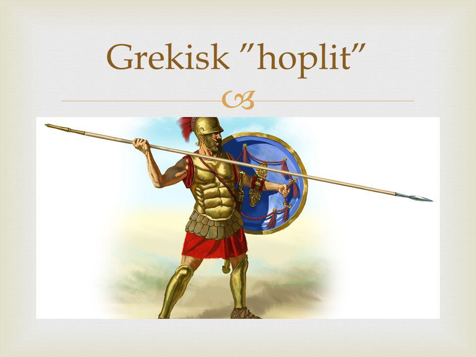 " Grekisk ""hoplit"""