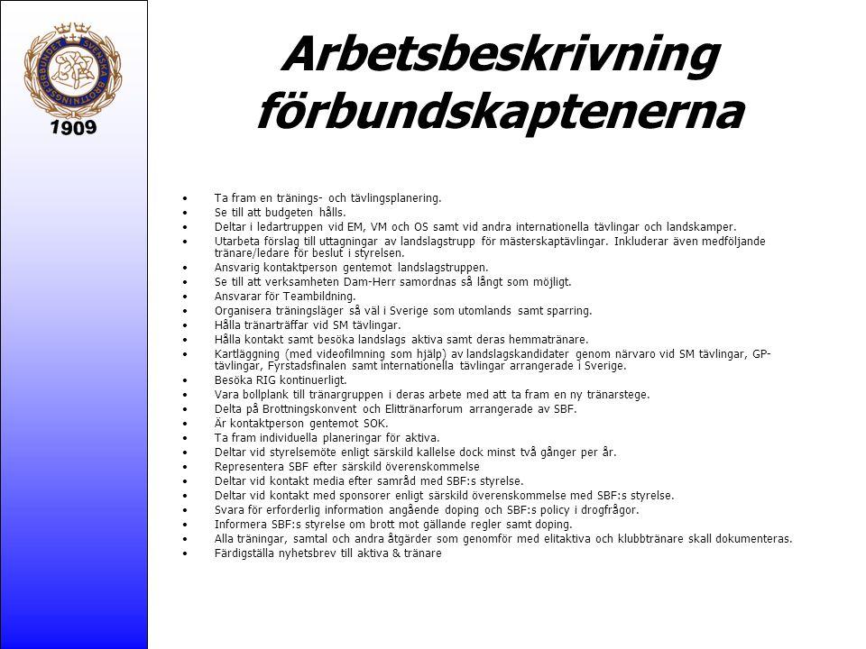 Nyskapande jämfört med tidigare år Fältarbete = kartläggning av aktivas hemmamiljö.