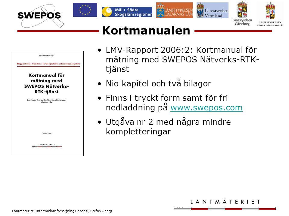 Lantmäteriet, Informationsförsörjning Geodesi, Stefan Öberg Framtiden Antal Satelliter