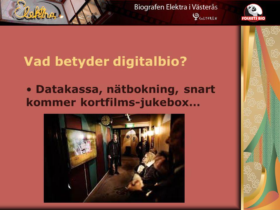Vad betyder digitalbio Datakassa, nätbokning, snart kommer kortfilms-jukebox…