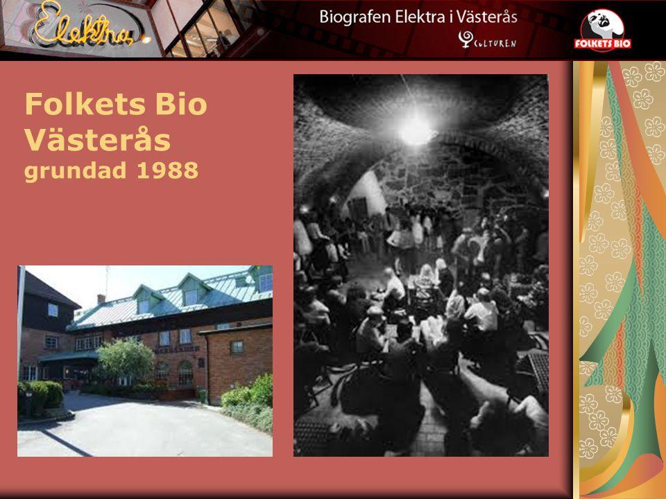 Folkets Bio Västerås grundad 1988
