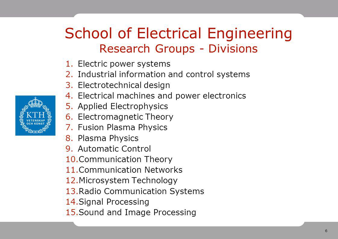 37 School of Electrical Engineering Where are we going.