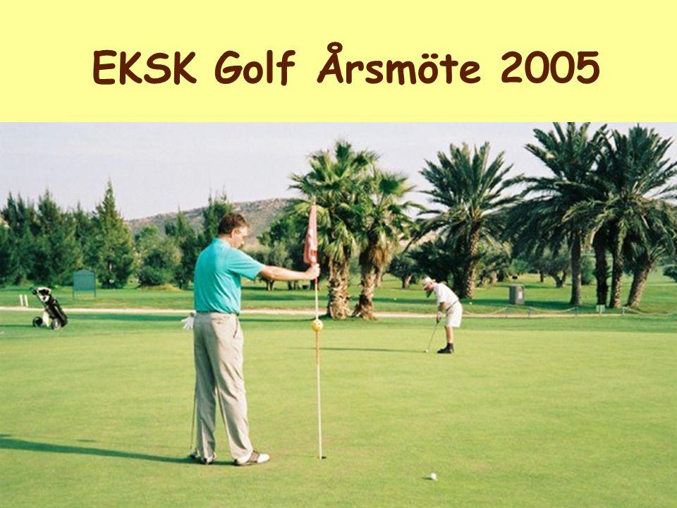 EKSK Golf Årsmöte 2005