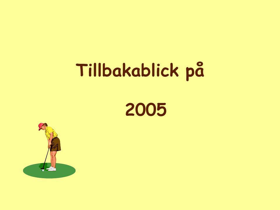Golfsektionen 2005 Fred Ersson Ordf.
