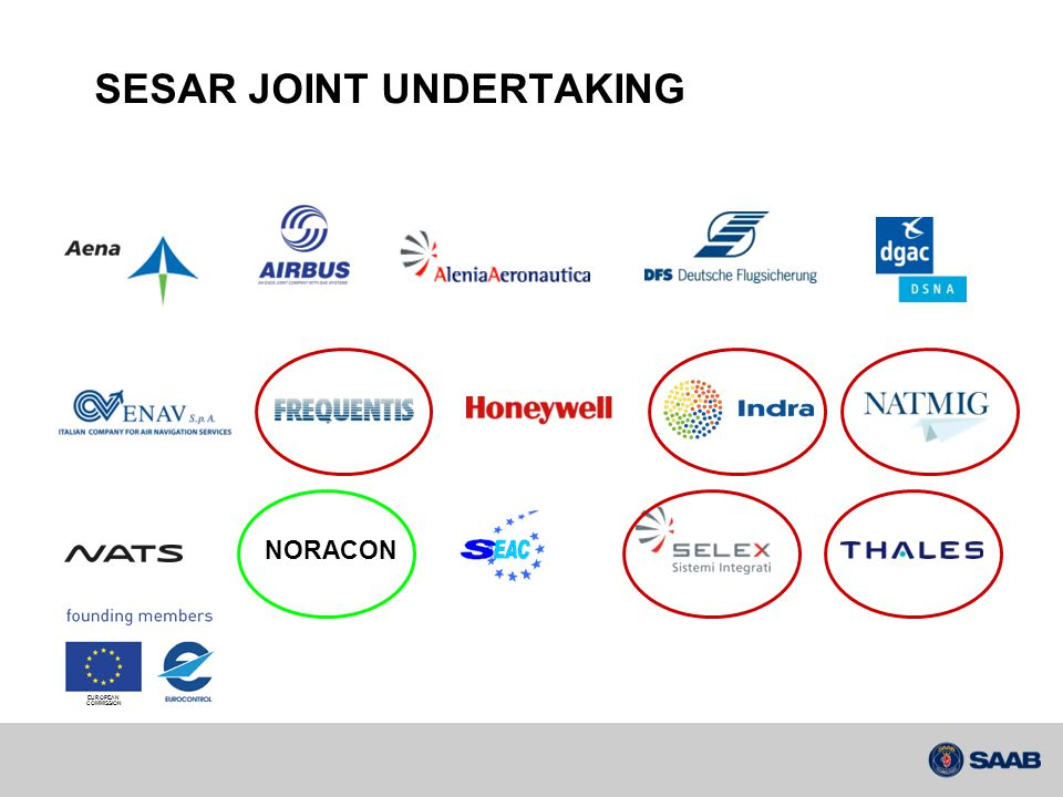 SESAR JOINT UNDERTAKING NORACON EUROPEAN COMMISSION